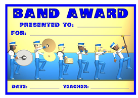Band Award | Other Files | Documents and Forms