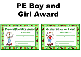 PE Boy and Girl Award | Other Files | Documents and Forms
