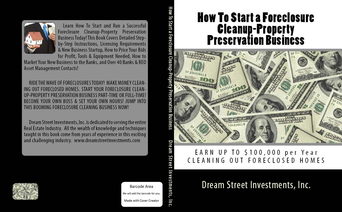 foreclosure cleanup business plan