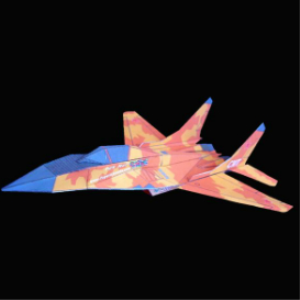 paper mig-29 desert