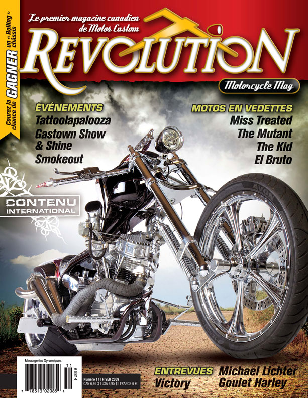 First Additional product image for - Revolution Motorcycle Mag Vol.11 Francais
