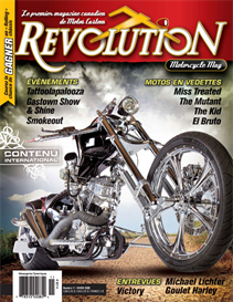 revolution motorcycle mag vol.11 francais