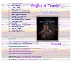 Soul & Spirit Music CD by Phyllis A Travis | Music | Folk
