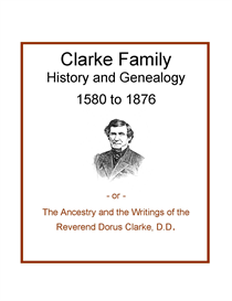 Clark Family History and Genealogy | eBooks | History