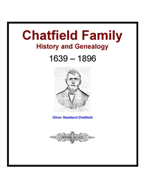 Chatfield Family History and Genealogy | eBooks | History