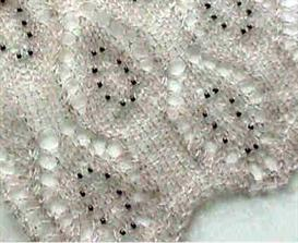 Beaded Lace Scarf knitting pattern - PDF | Other Files | Arts and Crafts