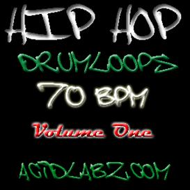 Hip Hop Drumloops 70bpm 01 - 10