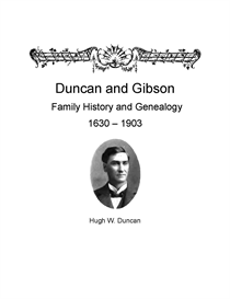 Duncan Family History and Genealogy | eBooks | History