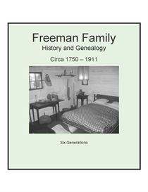 Freeman Family History and Genealogy | eBooks | History