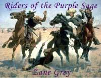Riders of the Purple Sage by Zane Grey Sony LRF | eBooks | Classics