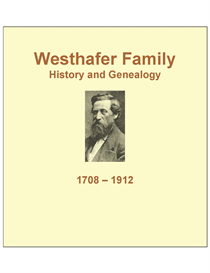 Westhafer Family History and Genealogy | eBooks | History