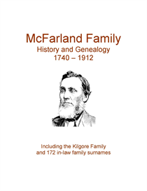 mcfarland kilgore family history and genealogy