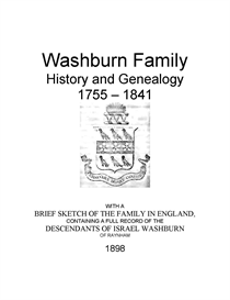 washburn family history and genealogy
