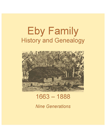 Eby Family History and Genealogy | eBooks | History