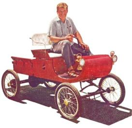 1901 olds horseless carriage plans