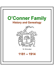OConner Family History and Genealogy | eBooks | History
