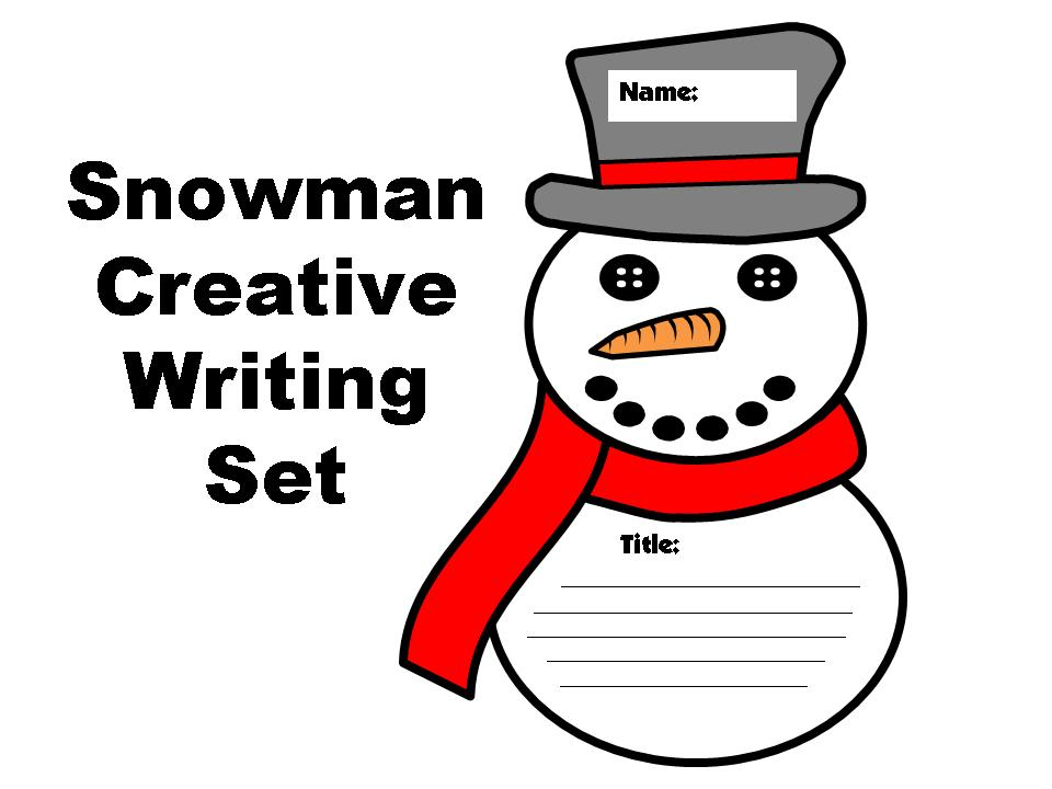 Snowman Creative Writing Templates Set   Other Files ...