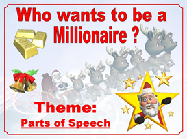 Christmas Parts of Speech Powerpoint (nouns, verbs, adjectives, adverbs) | Other Files | Documents and Forms
