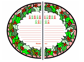 A Christmas Carol Group Project Wreaths | Other Files | Documents and Forms
