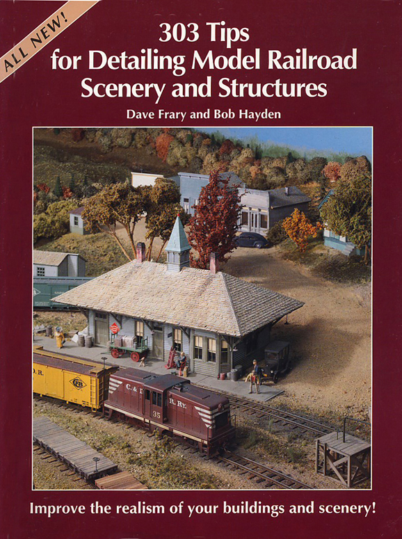 detailing tips and techniques model railroad handbook.