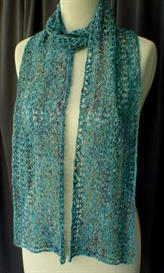 Lacy Serpentine Scarf knitting pattern - PDF | Other Files | Arts and Crafts
