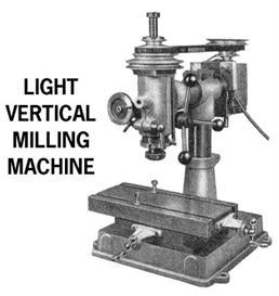 light vertical milling machine plans