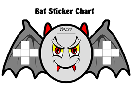 Bat Sticker Chart Set | Other Files | Documents and Forms