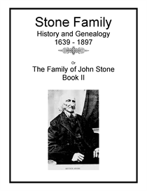 Stone Family History and Genealogy II | eBooks | History