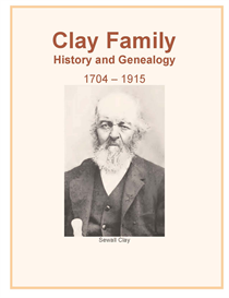 Clay Family History and Genealogy | eBooks | History