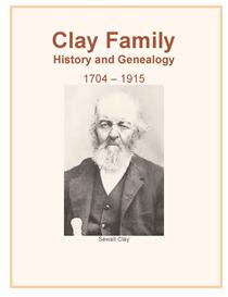 clay family history and genealogy