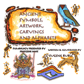 Ancient Symbols, Artwork,Carvings & Alphabets | eBooks | Children's eBooks