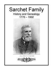 Sarchet Family History and Genealogy | eBooks | History
