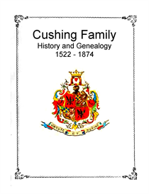 Cushing Family History and Genealogy | eBooks | History