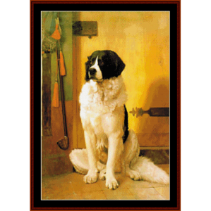 Study of a Dog - Gerome cross stitch pattern by Cross Stitch Collectibles   Crafting   Cross-Stitch   Wall Hangings