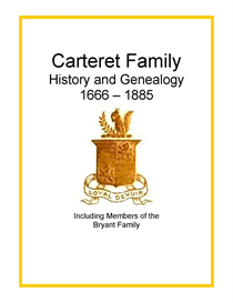 Carteret Bryant Family History and Genealogy | eBooks | History
