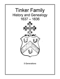 Tinker Family History and Genealogy | eBooks | History