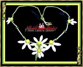 Delica Daisy Necklace | eBooks | Arts and Crafts