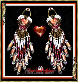 Pretty Hearts Earrings | eBooks | Arts and Crafts