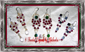 Variations on a Theme Christmas Earrings | eBooks | Arts and Crafts
