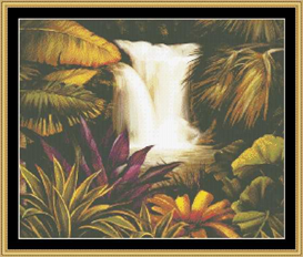 Falls Of Beauty | Crafting | Cross-Stitch | Other