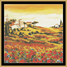 Tuscan Valley | Crafting | Cross-Stitch | Other