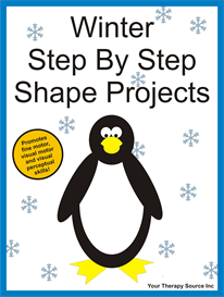 Winter Step By Step Shape Projects | eBooks | Education