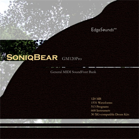 EdgeSounds SoniqBear GM120Pro | Music | Soundbanks