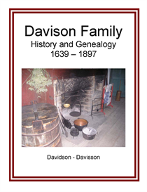 Davison Family History and Genealogy | eBooks | History