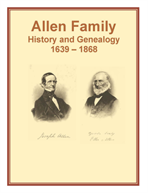 Allen Family History and Genealogy | eBooks | History