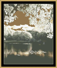 Morning Blossom | Crafting | Cross-Stitch | Other