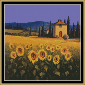 A Sunflower Vantage | Crafting | Cross-Stitch | Other