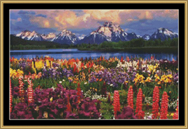 Grand Teton | Crafting | Cross-Stitch | Other