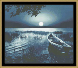 Moonlight Lake | Crafting | Cross-Stitch | Other