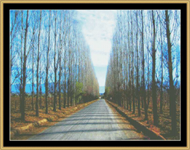 The Road Not Traveled | Crafting | Cross-Stitch | Other